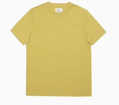 Six Edges VI.E Melange T-shirt yellow Fields