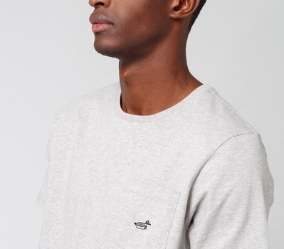 Edmmond Duck Patch Plain Grey