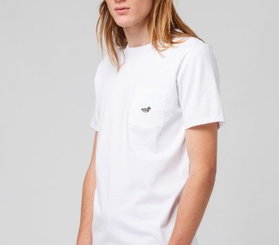 Edmmond Duck Patch Plain White