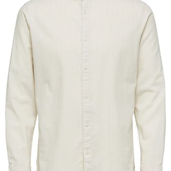 Selectedhomme SLHslimnolan-China Oyster Gray-Stripes