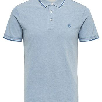 Selectedhomme SLHtwist Polo Blue Horizon twisted