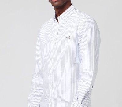 Edmmond The Button Down Shirt Duck Edition Vertical Stripe