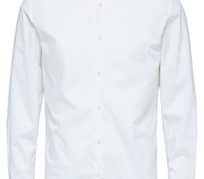Selectedhomme SLHslimpreston Clean shirt Bright White